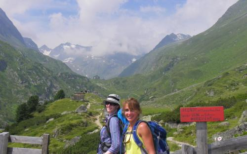 Hiking in the Austrian and Bavarian Alps