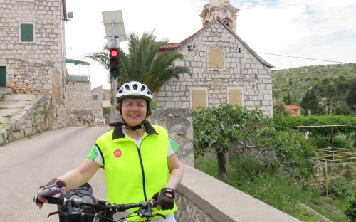 Bicycling in Croatia from Split to Dubrovnik