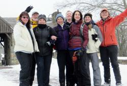 New York Woods to Farm to Table Snowshoeing in Pocantico Hills