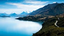 New Zealand Lake Wakatipu