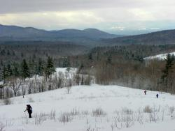 Snowshoe the trail less traveled in Vermont.
